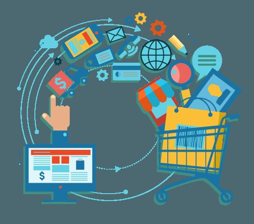 realizzazione ecommerce professionali Ecommerce PNG